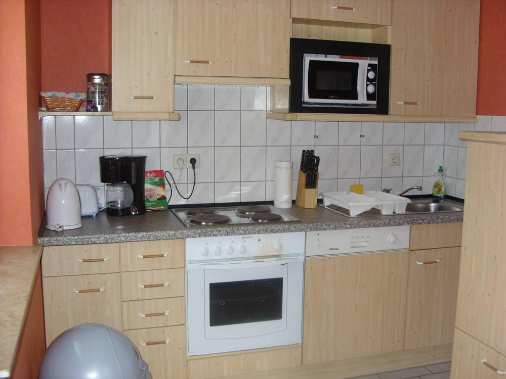 Küche Ferienwohnung Zur Hasenwiese Bramsche Surendorf